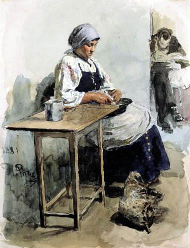 Ilja Jefimowitsch Repin - The cook