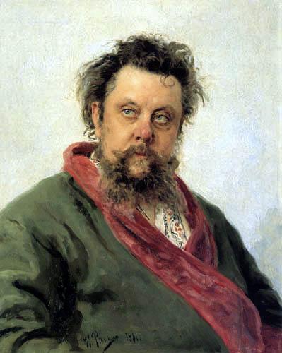 Ilja Jefimowitsch Repin - Modest Mussorgski