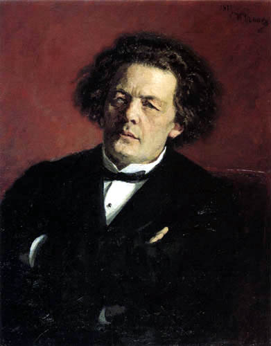 Ilja Jefimowitsch Repin - The Composer Anton Rubinstein