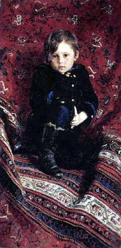 Ilja Jefimowitsch Repin - Bildnis Juri Repin als Kind