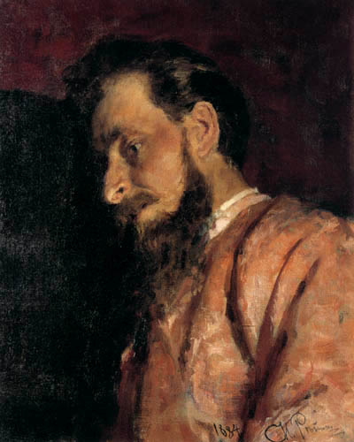 Ilja Jefimowitsch Repin - The Son of Ivan the Terrible, Study