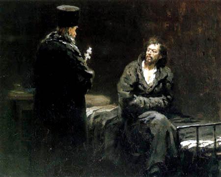 Ilja Jefimowitsch Repin - The last confession