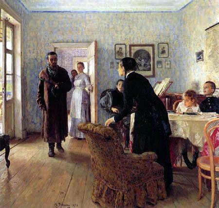 Ilja Jefimowitsch Repin - Unerwartete Heimkehr