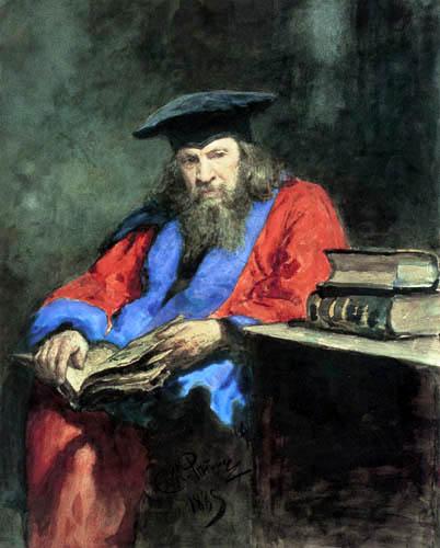 Ilja Jefimowitsch Repin - Dimitri Mendeleew