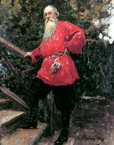 Ilja Jefimowitsch Repin - Portrait of Wladimir Stassow