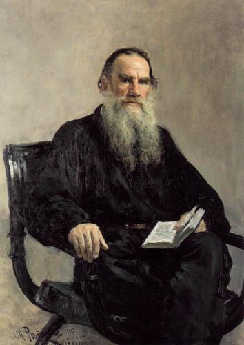 Ilja Jefimowitsch Repin - The Writer Leo Tolstoy