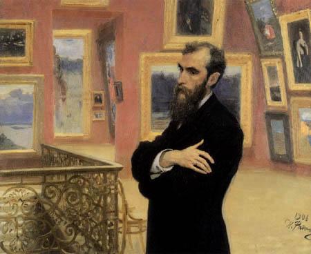 Ilja Jefimowitsch Repin - Pawel M. Tretjakow