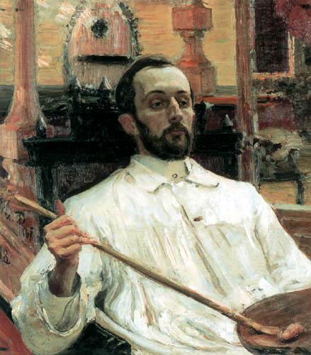 Ilja Jefimowitsch Repin - The Painter Dimitri Kardowski