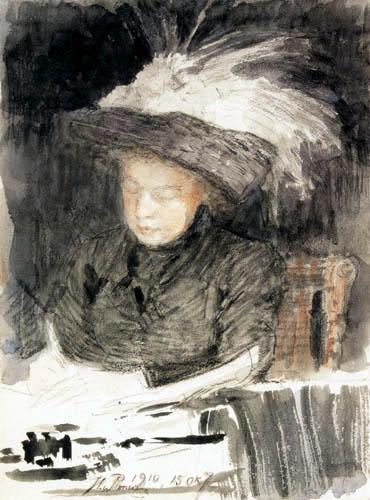 Ilja Jefimowitsch Repin - Natalia B. Nordman-Sewerowa