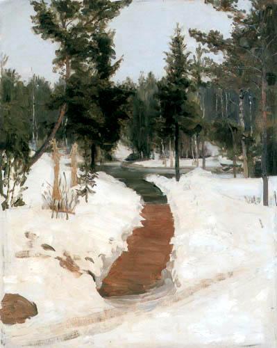 Ilja Jefimowitsch Repin - Winter landscape