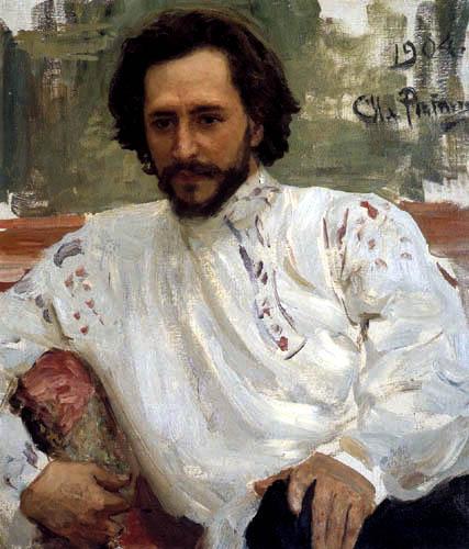 Ilja Jefimowitsch Repin - Bildnis Leonid Andrejew