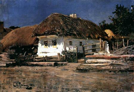 Ilja Jefimowitsch Repin - Ukainisches Bauernhaus