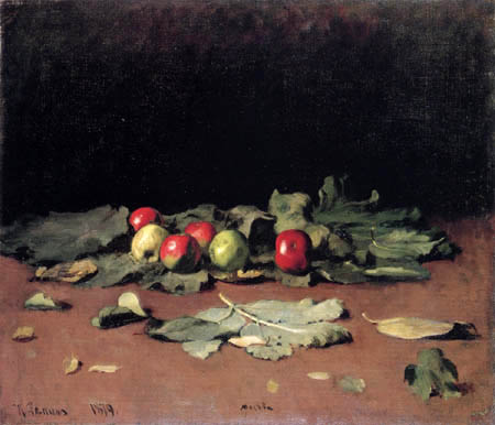 Ilja Jefimowitsch Repin - Apples and leafes
