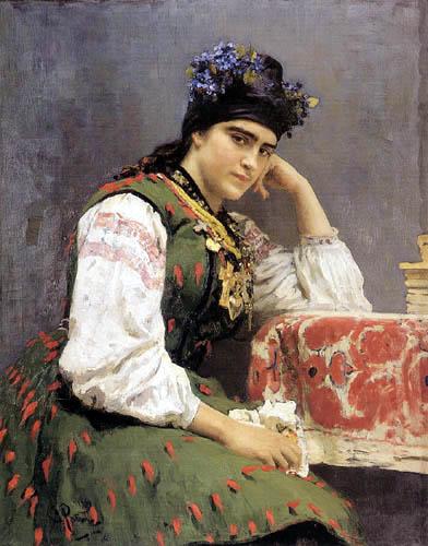 Ilja Jefimowitsch Repin - Bildnis S. M. Dragomirowa