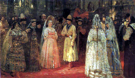 Ilja Jefimowitsch Repin - Brautschau
