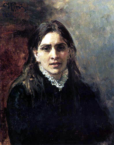 Ilja Jefimowitsch Repin - Bildnis Pelageja Strepetowa