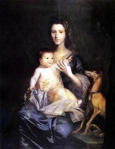 Sir Joshua Reynolds - Jane Hamilton