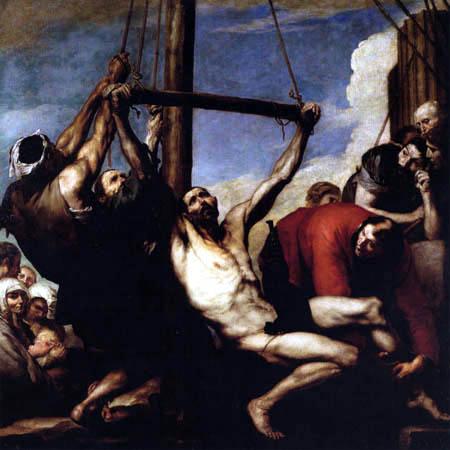 Jusepe (José) de Ribera - Martyrium des hl. Philipp