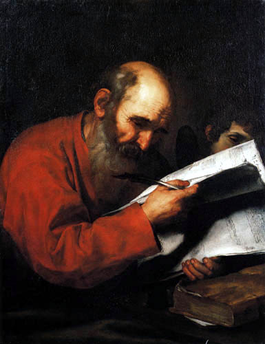 Jusepe (José) de Ribera - Saint Matthew and the Angel
