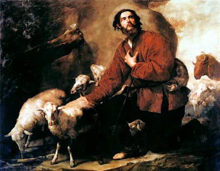 Jusepe (José) de Ribera - Jakob und die Herde von Laban