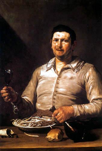 Jusepe (José) de Ribera - Allegorie of the sense of taste