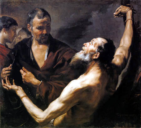 Jusepe (José) de Ribera - El Martirio de San Bartolomé