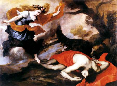 Jusepe (José) de Ribera - Venus and Adonis