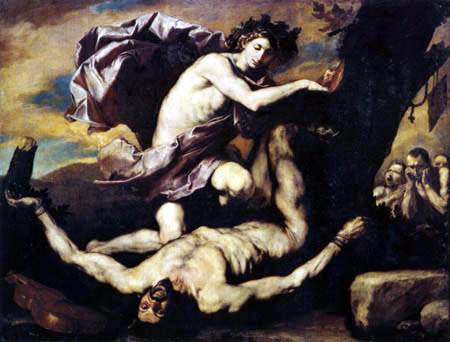 Jusepe (José) de Ribera - Apollo and Marsyas