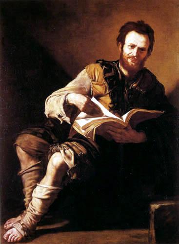 Jusepe (José) de Ribera - Démocrite