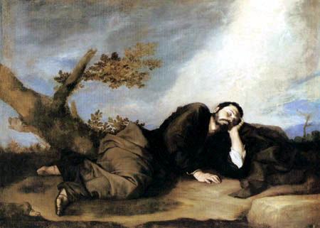 Jusepe (José) de Ribera - The dream of Jakob