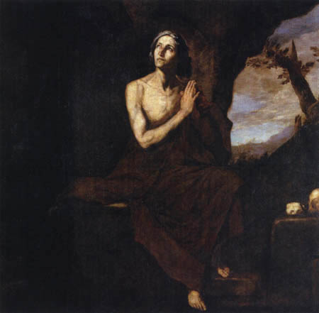 Jusepe (José) de Ribera - Hl. Maria Aegyptiaca