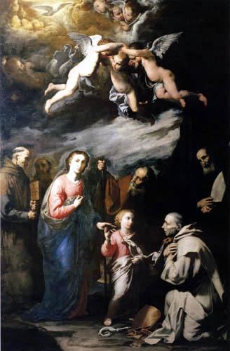 Jusepe (José) de Ribera - Trinität der Erde