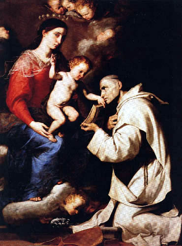 Jusepe (José) de Ribera - Madonna with the Jesus child