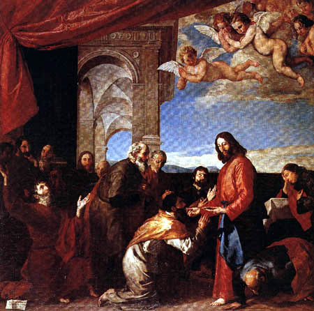 Jusepe (José) de Ribera - Communion of apostles
