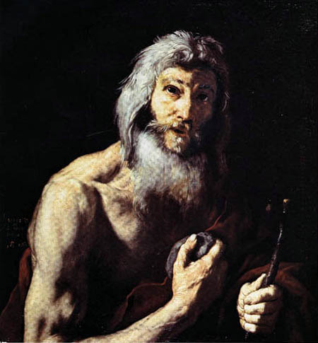 Jusepe (José) de Ribera - The Penitent Jeronimo