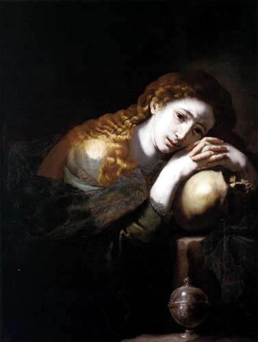 Jusepe (José) de Ribera - Die büßende Magdalena