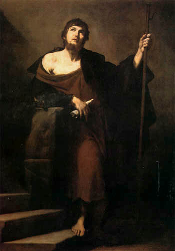 Jusepe (José) de Ribera - Saint Jacques