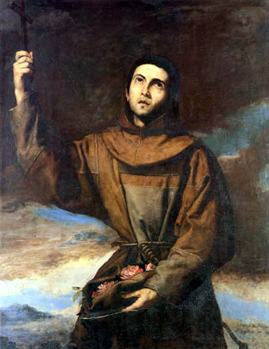 Jusepe (José) de Ribera - San Diego de Alcalá