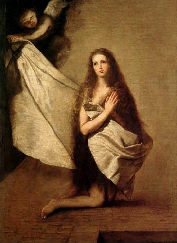 Jusepe (José) de Ribera - La Santa Agnes en la prisión