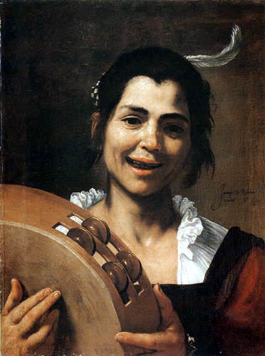 Jusepe (José) de Ribera - Allegorie of the hearing