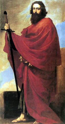 Jusepe (José) de Ribera - San Pablo