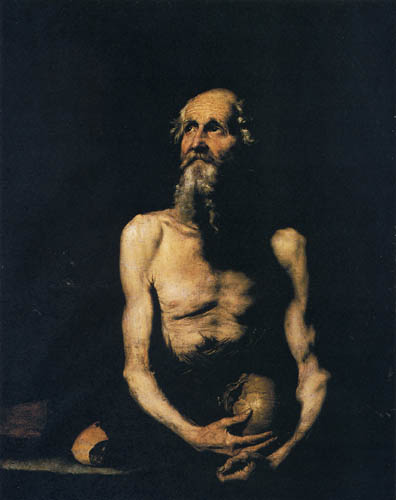 Jusepe (José) de Ribera - Paulus Eremita