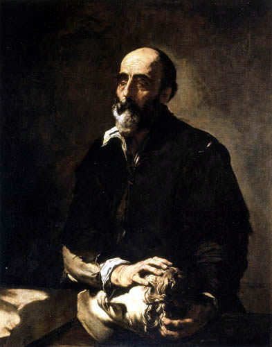 Jusepe (José) de Ribera - The sense of touch