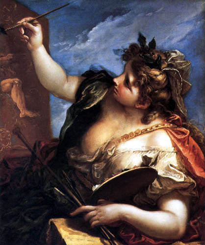 Sebastiano Ricci - Allegory of the Painting