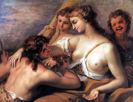Sebastiano Ricci - Bacchus and Ceres