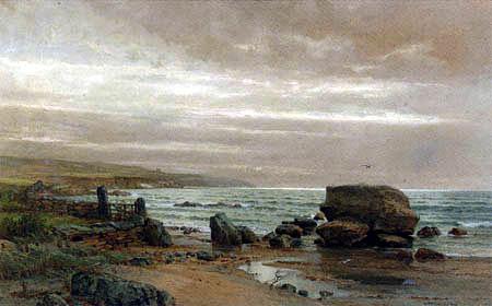 WilliamTrost Richards - Mackeral Cove, Conanicut Island