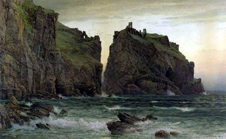 WilliamTrost Richards - The Cornish Rocks