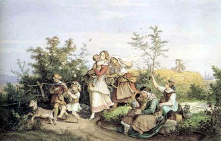 Adrian Ludwig Richter - Sommerlust