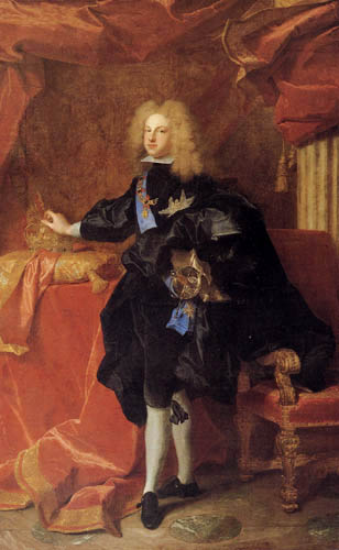 Hyacinthe Rigaud - Portrait of Philip V