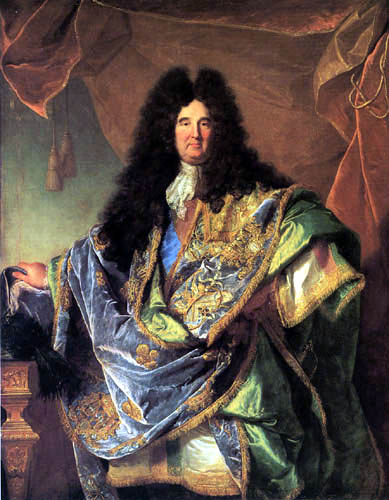 Hyacinthe Rigaud - Portrait of Philippe de Courcillon